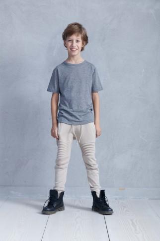Grey Soft Jersey T-shirt