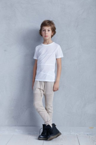 White Soft Jersey T-shirt
