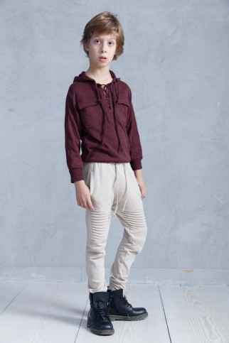 Burgundy Cotton Bumper